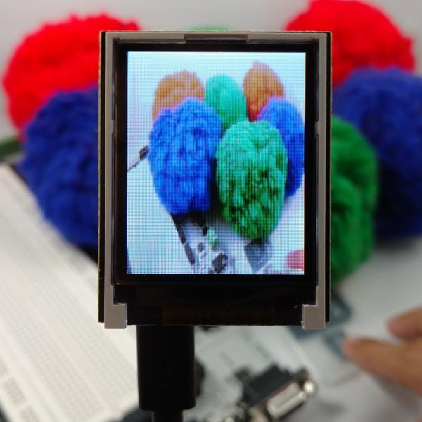 OpenMV LCD Shield، شیلد السیدی، 1.8 اینچی، دوربین اپن ام وی،
