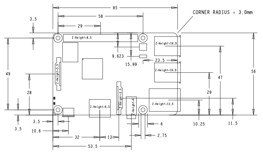 RASPBERRY PI 3 MODEL B+ Board، رسپبری پای 3 مدل بی پلاس، وایفای دوبانده
