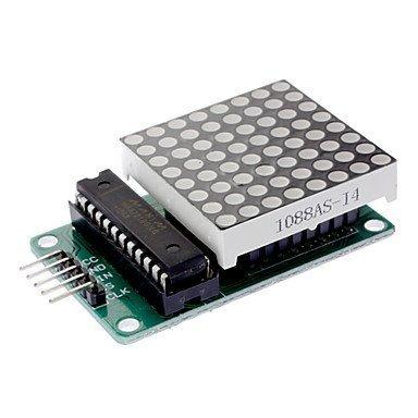 MAX7219 LED matrix module