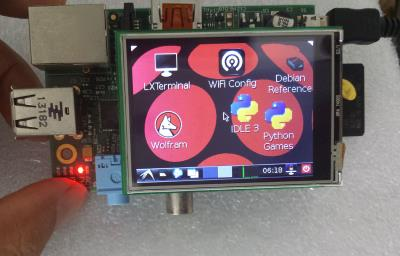Raspberry Pi 2.4inch TFT touch screen LCD