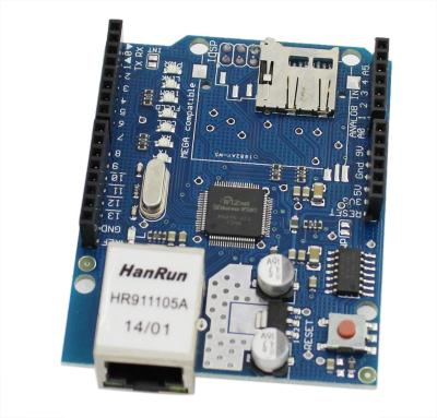 Arduino Ethernet Shield (W5100 and SD)